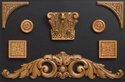 Acanthus Ornaments